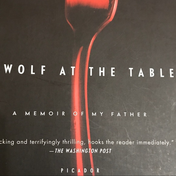 A Wolf At The Table softcover book